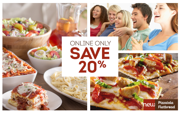 Olive Garden Save 20 On Your Catering Or To Go Order For Feb 22nd Savings Done Simply