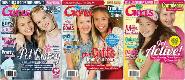 We also offer kids magazines for girls like Girls World or Disney Princess. These magazines provide early-learning activities to inspire creativity through crafts, party ideas, advice and more. If you're searching for magazines for teenagers, we recommend browsing our teen magazine selection.