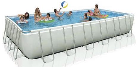 Intex Ultra Frame Rectangular Swimming Pool Just 699 Regularly 1299 Savings