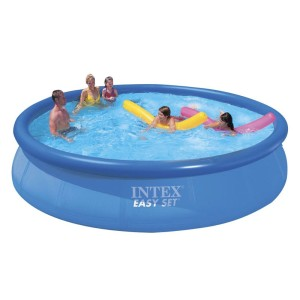 intex round pool set