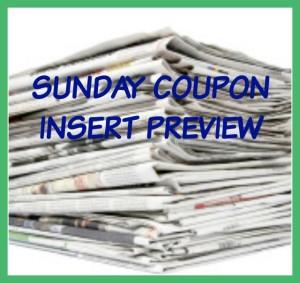sunday coupon inserts