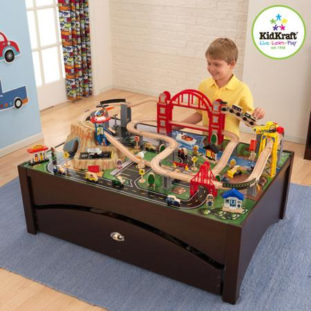 You Can Also Grab This KidKraft Metropolis Train Table And Set For $152.05  Shipped U2013 Regularly $219.99!