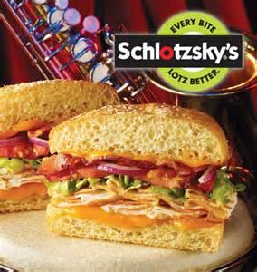 schlotzskys original small sandwich