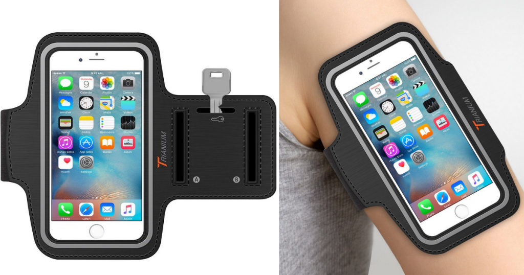 great deal on armtrek sports exercise armband for apple iphone 6 or 6s savings done simply. Black Bedroom Furniture Sets. Home Design Ideas