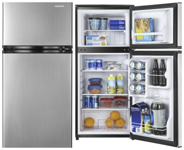 best buy insignia stainless steel 4 3 cu ft compact refrigerator shipped savings. Black Bedroom Furniture Sets. Home Design Ideas