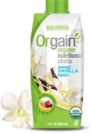 orgain shakes