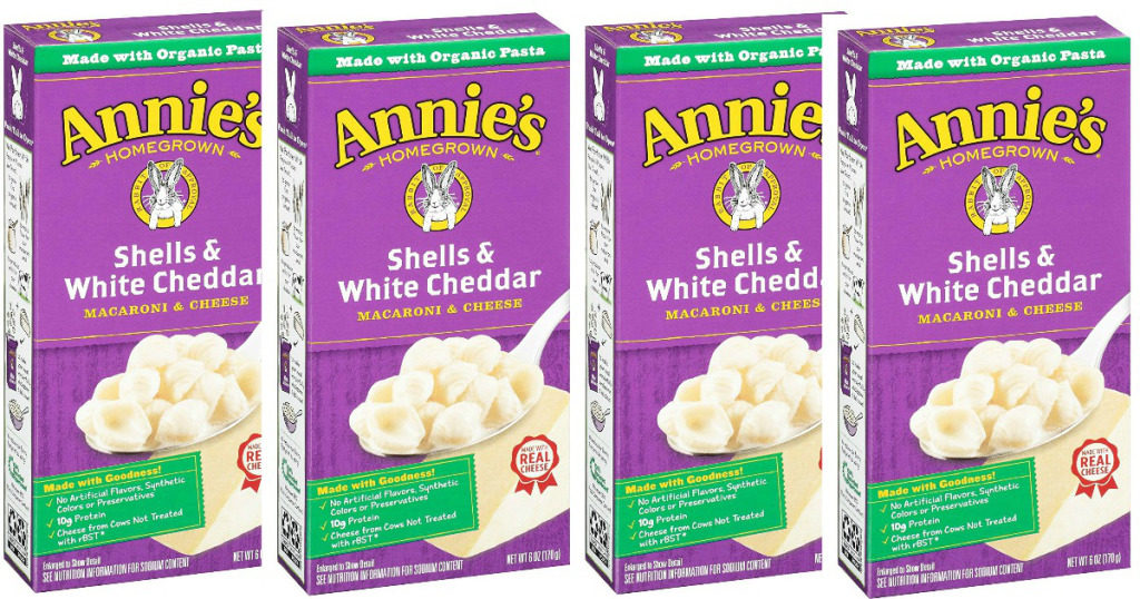 annies shells and cheese