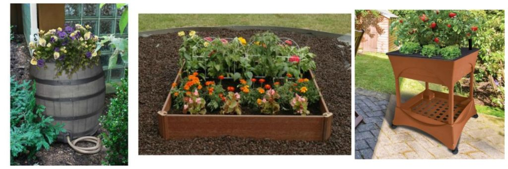 Home Depot Save On Raised Garden Beds Rain Barrels