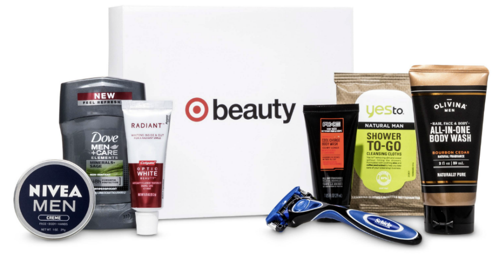 target fathers day beauty box