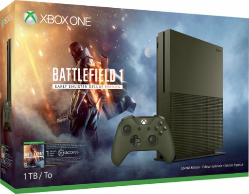 Best Buy: Buy Xbox One S 1TB Console and Get Free Game