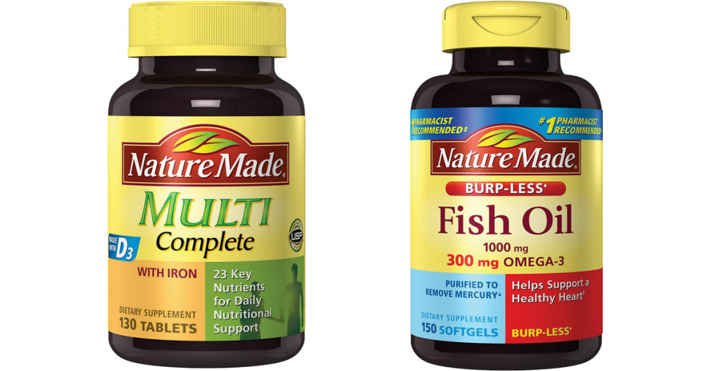 Nature valley vitamins products