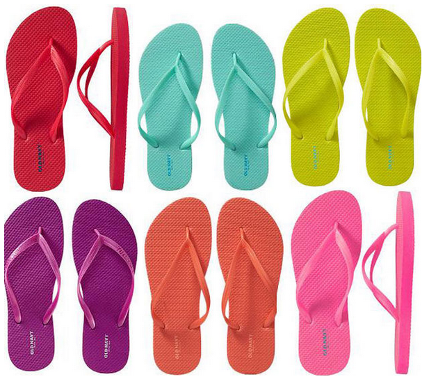a1116c0d91cf Old Navy   1 Flip Flop Sale Today - In Stores and Online .