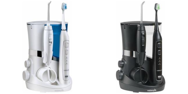 waterpik complete care 5 0 water flosser and triple sonic toothbrush reg. Black Bedroom Furniture Sets. Home Design Ideas