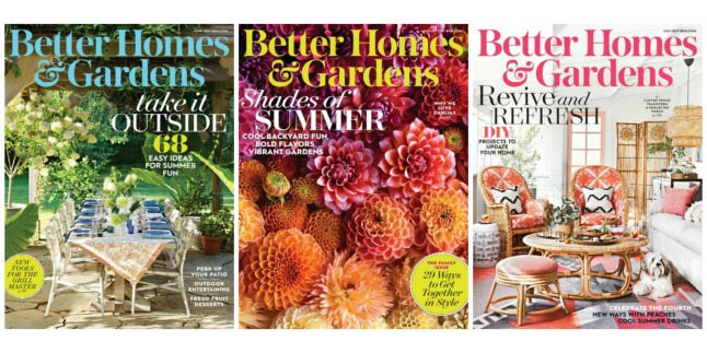 Two Year Subscription To Better Homes Gardens Magazine