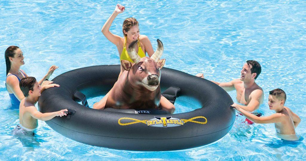 intex inflate a bull