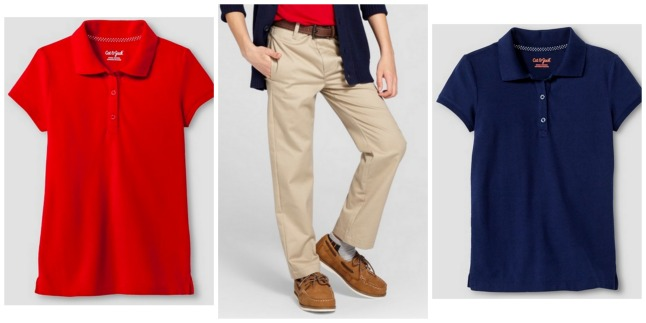 Target Cat Jack Uniform Polo Shirts Just 4 Each After Gift Card