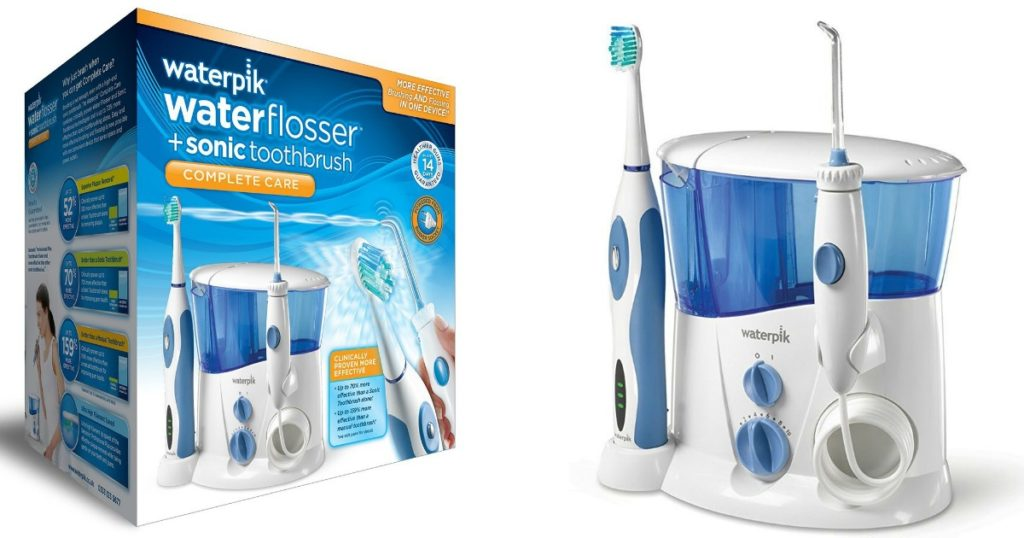 amazon save on waterpik water flosser and sonic toothbrush savings done simply. Black Bedroom Furniture Sets. Home Design Ideas