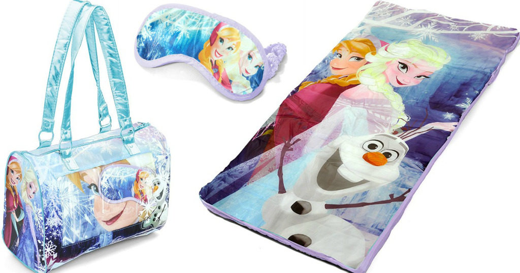 Disney Frozen Nap Mat W Purse Amp Eye Mask Just 10