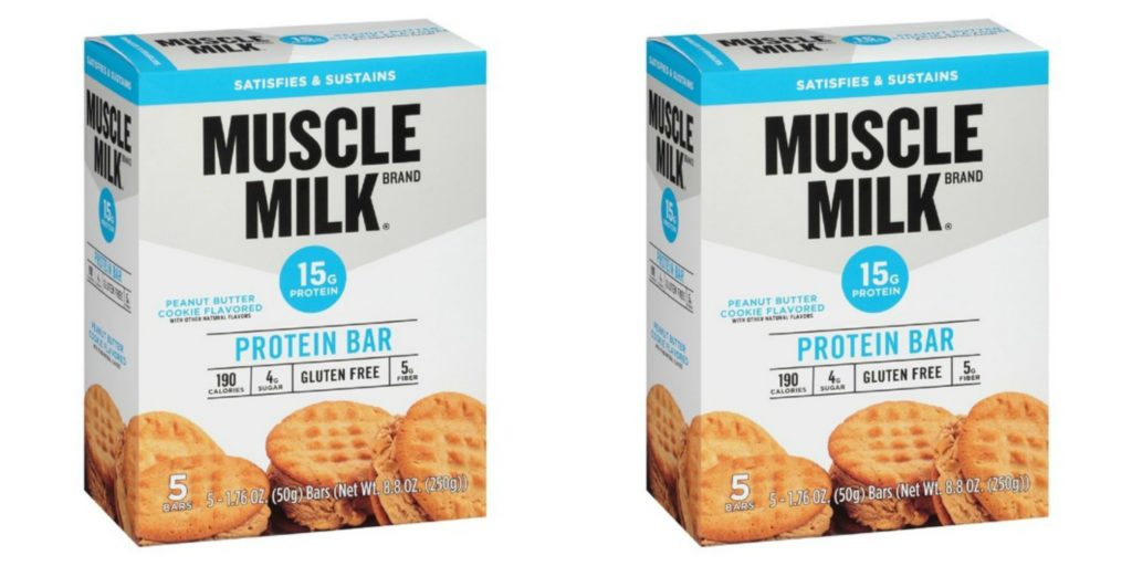 Image result for Muscle Milk Protein Bars 5 Coun