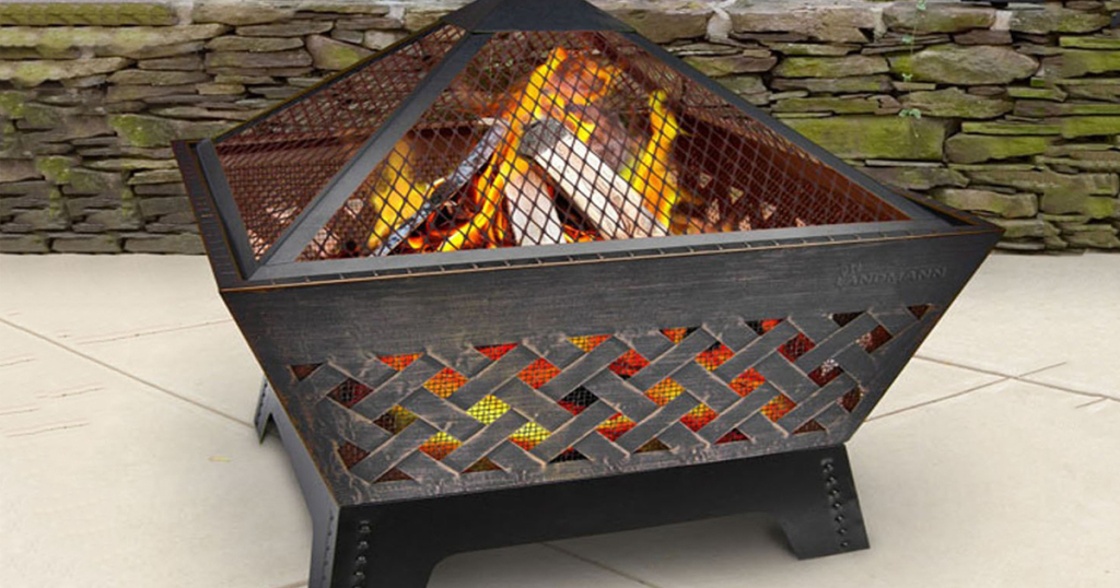 Amazon nice savings on antique bronze fire pit w cover for Amazon prime fire pit