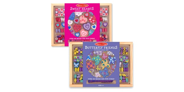 melissa doug bead set bundle