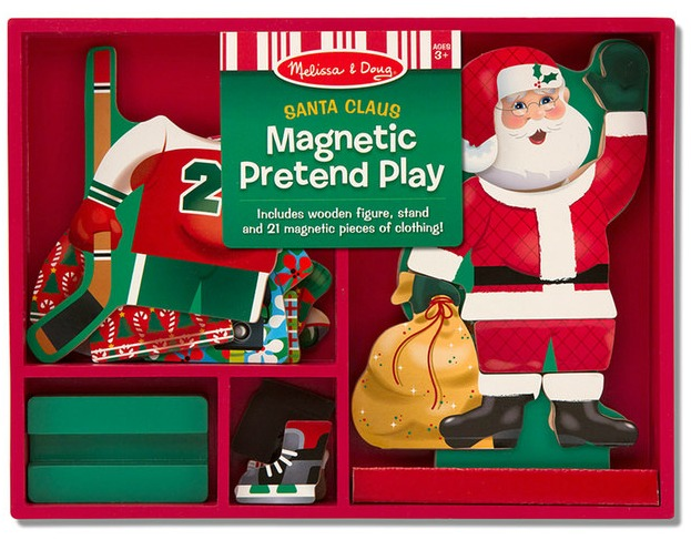 santa claus magnetic set