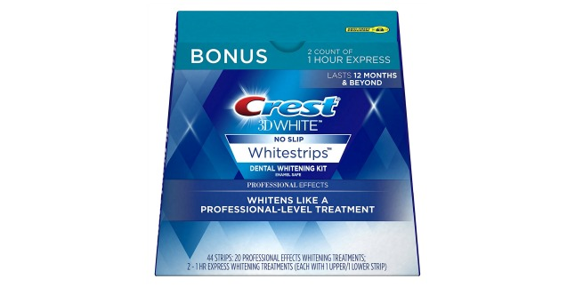 Coupon for crest white strips professional effects