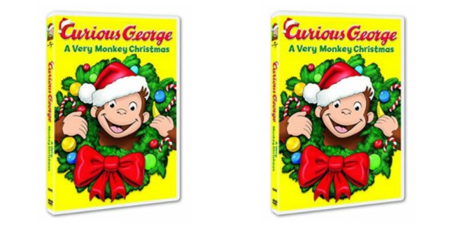 Curious George Christmas.Amazon Save On Curious George A Very Monkey Christmas Dvd