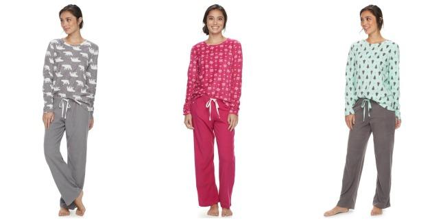 kohls pajamas