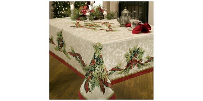Amazon beautiful benson mills christmas ribbons for 12 days of christmas table cloth