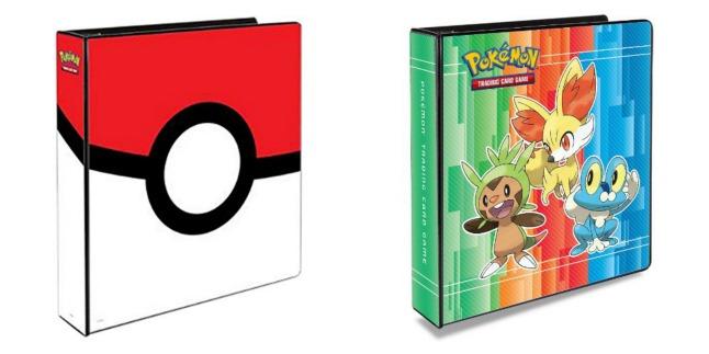 pokemon binders