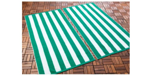 set 2 beach towel