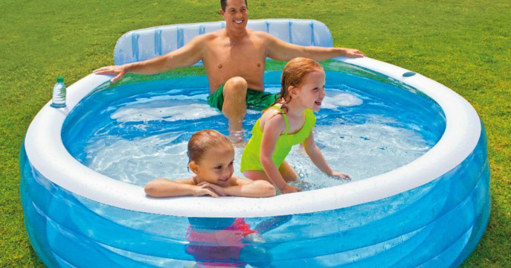 Amazon Save On Intex Inflatable Family Lounge Pool Savings Done Simply