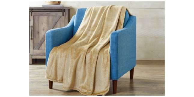 Walmart Better Homes And Gardens Throw Blanket Only 5