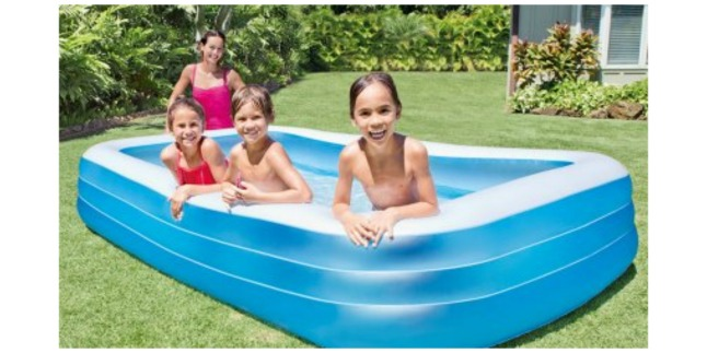 Intex Inflatable Swim Center Family Lounge Pool 2549 Was 3570