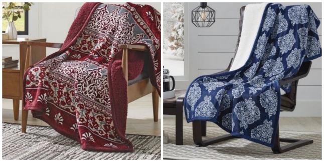 Better Homes Gardens Velvet Plush Reverse To Sherpa Throw Blanket Impressive Better Homes And Gardens Throw Blanket