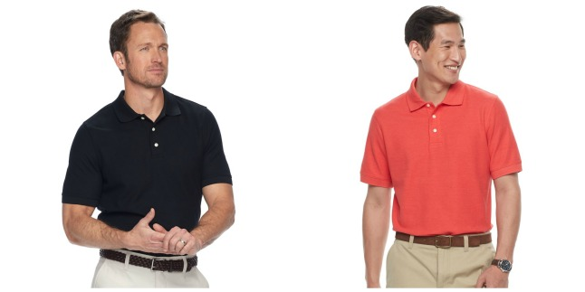 c2fdaa4f370d Head over to Kohls.com where this Croft   Barrow Men s Performance Polo for  just  9.99 (regularly  20). Buy