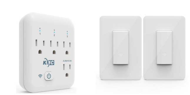 Amazon: Save on KMC 4 Outlet WiFi Smart Plug and More