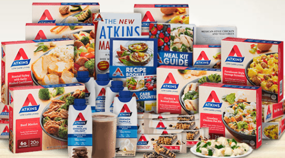 graphic about Atkins Coupon Printable named Totally free Atkins Novice Package and $5 Coupon - Cost savings Completed Just