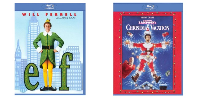 Head on over to BestBuy.com and get the super funny Elf [Blu-ray] $7.99 shipped (was $17.99) and National Lampoon's Christmas Vacation [Blu-ray] for $6.99 ...