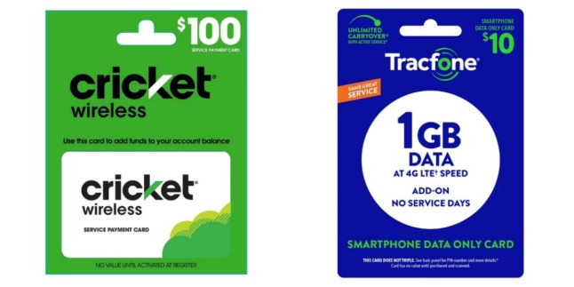 Target: Save $5 When You Spend $50 On Airtime for TracFone, Cricket